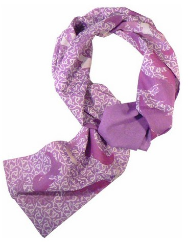 Eco Friendly Scarf from Beau Monde Organic - Made in USA