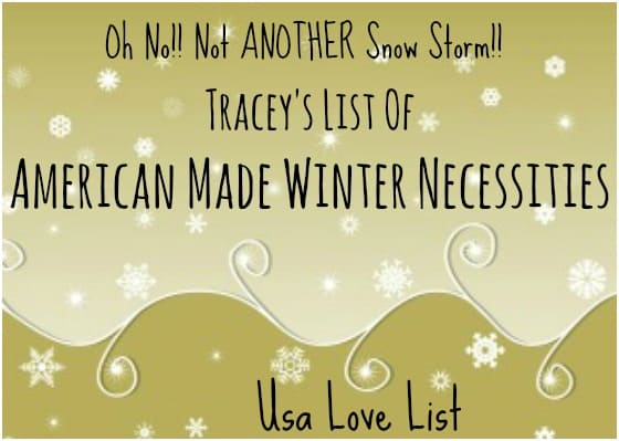 Six American Made Winter Necessities We Love… no, NEED, Today