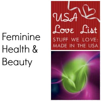 Made in USA Personal Care – Feminine Health Care Products