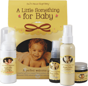 A Little Something for Baby gift kit