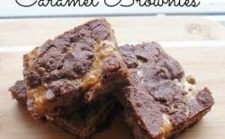 Recipe for Caramel Brownies