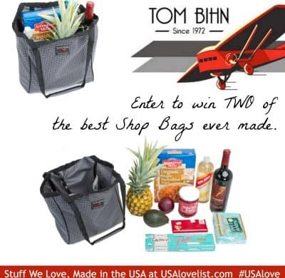 Enter to win a Tom Bihn Shop Bag.