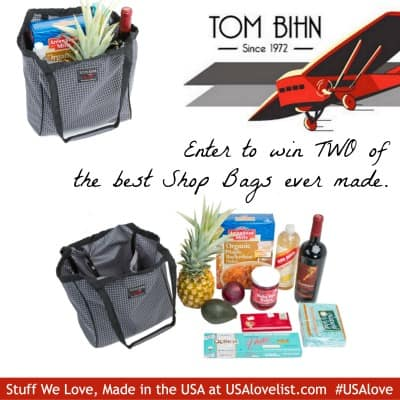 Enter to Win in our latest Giveaway Featuring the Tom Bihn Shop Bag