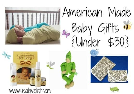 Baby Gifts {under $30}