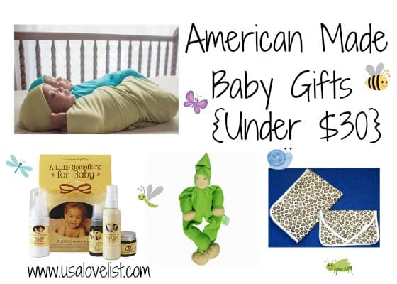 Baby Gift Baskets Under 30 : Four practical picks for american made baby gifts under