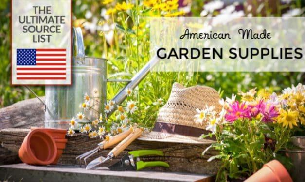 Best Garden Tools: An American Made Garden Supplies Source List