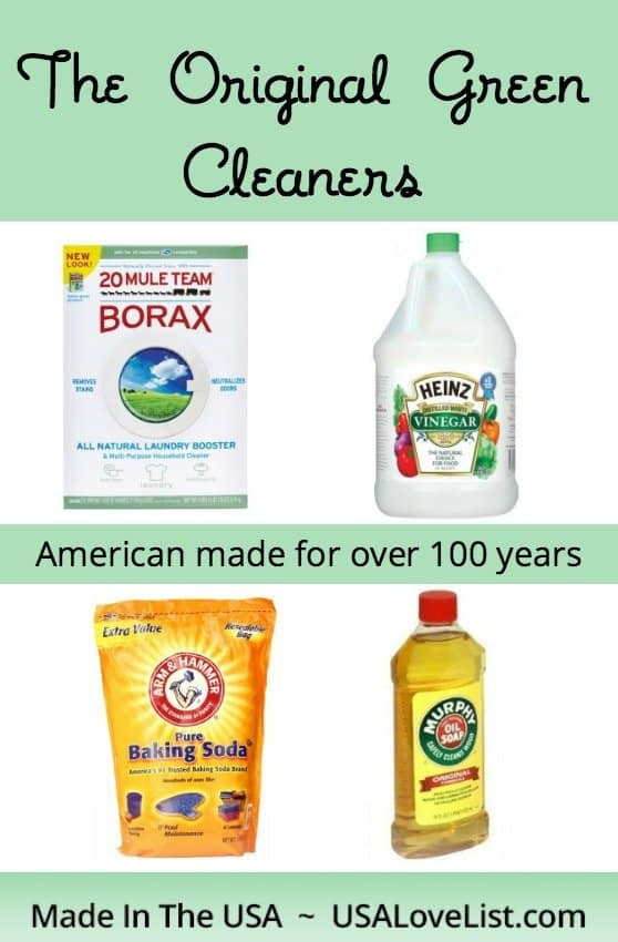 The Original Green Cleaners and tips on how to use them via USALoveList.com