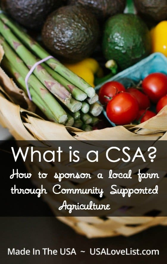 What is a CSA How to sponsor a local farm through Community Supported Agricultre