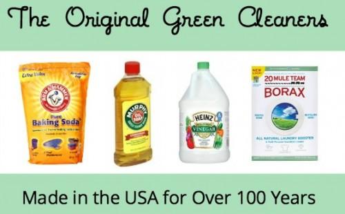 The Original Green Cleaners and how to use them via USALoveList.com