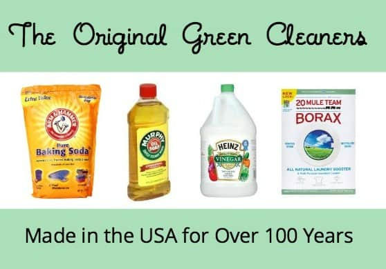 The Original Green Cleaners and how to use them via USALoveList.com