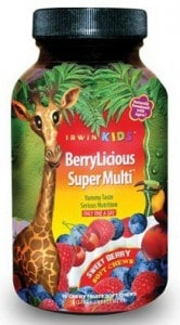 BerryLicious Super Multi by Irwin Naturals