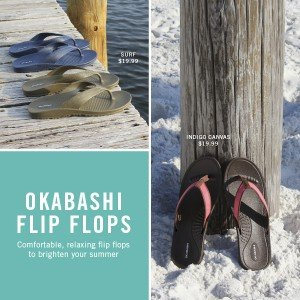 American Made Flip Flops From Okabashi | Made in USA sandals