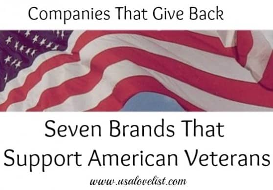 There is power in your purchases! Support these companies manufacturing in America and giving back to our veterans. #VeteransDay
