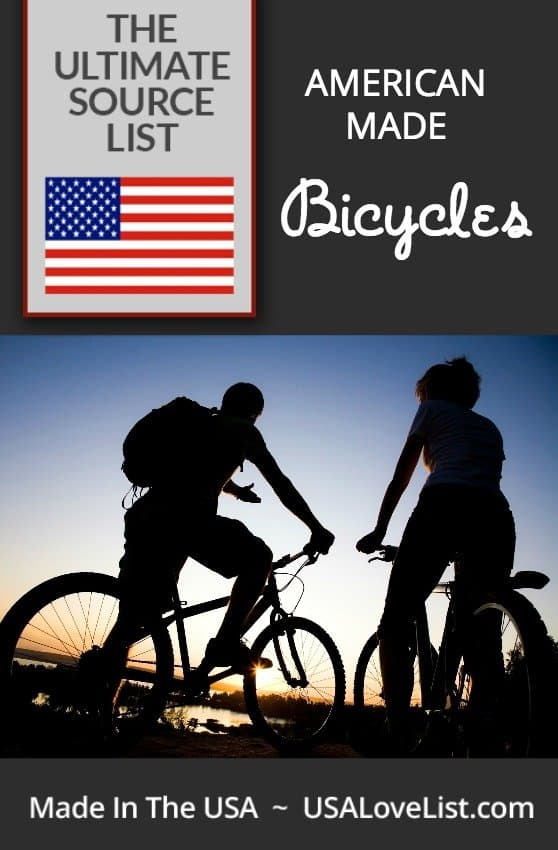 The ultimate American made bicycle source guide: Trikes, road, tandem, cyclocross, mountain, street, BMX, tandem, cruiser