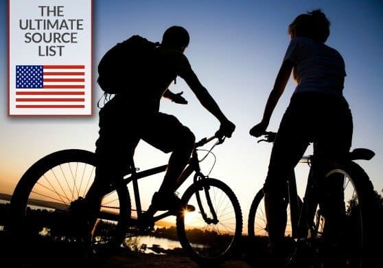 American made bikes via USALoveList.com
