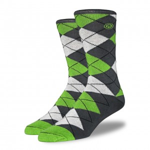 Argyle_Sock_on_White