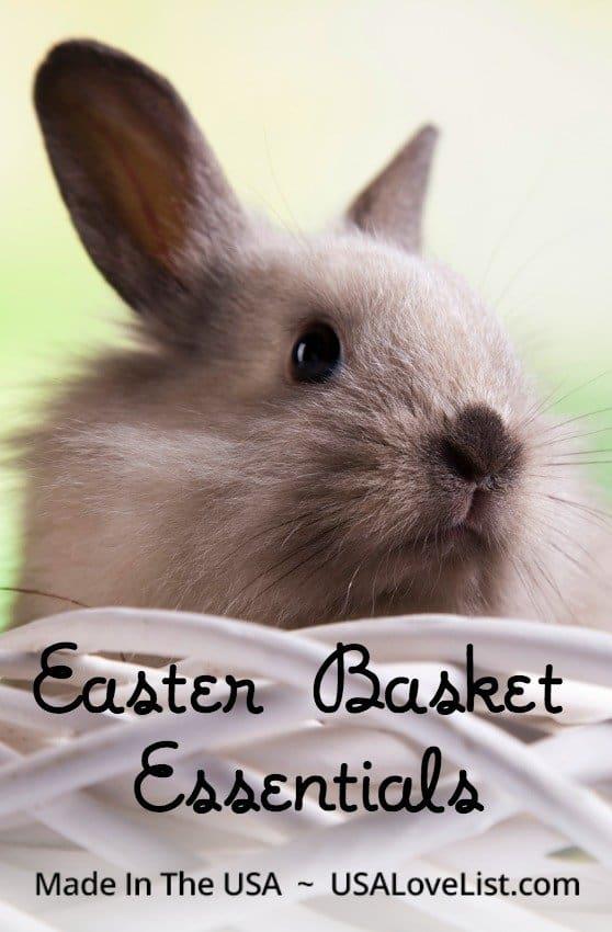 Made in the USA Easter Basket Ideas for Kids via USALoveList.com