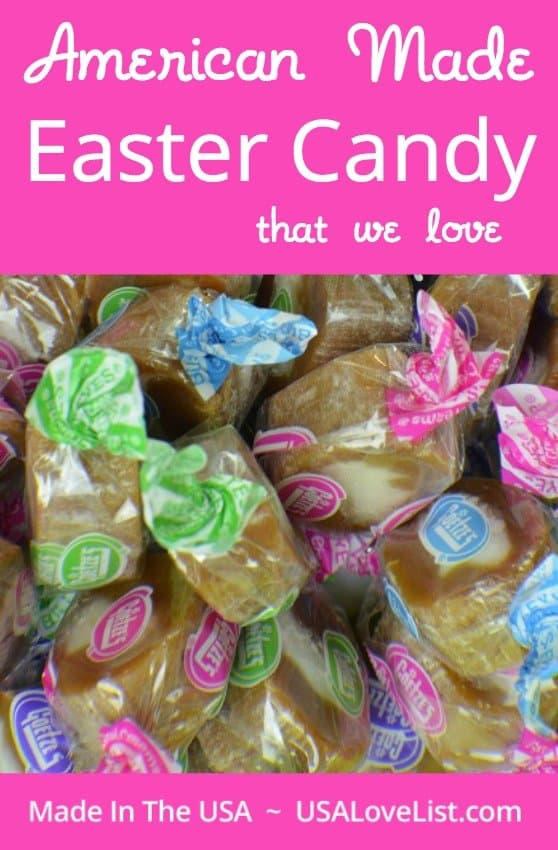 American Made Easter Candy That We Love via USALoveList.com