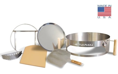 KettlePizza Pro wood fired pizza kit   For serious wood fire pizza cooking