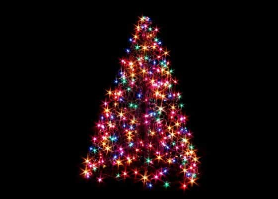 American Made Holiday Decorations Giveaway:  Win a Crab Pot Tree With LED Lights