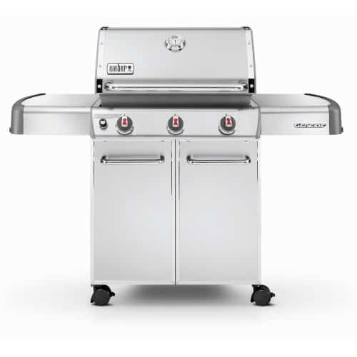 Weber grill Classic charcoal grill and the Summit and Genesis series are American made