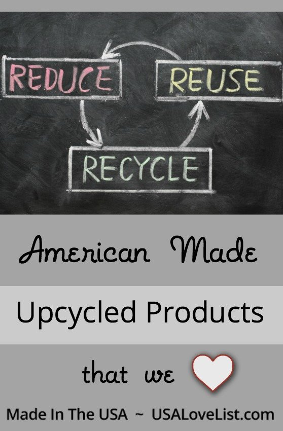 Upcycled products we love via USALoveList.com