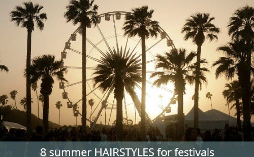 8 summer hairstyles with tips, products and style ideas | festival hairstyles | American made beauty