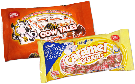 American Made Candy Cow Tales, and Caramel Creams #madeinUSA #EasterTreats