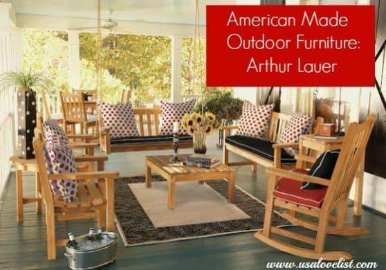 Arthur Lauer Outdoor Teak Furniture