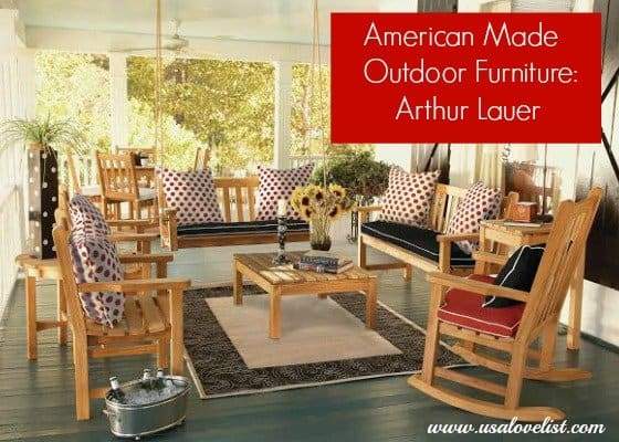 Arthur Lauer Teak Furniture: Out of Business