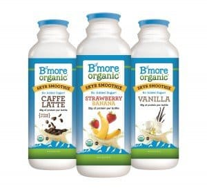 B'More Organic Low Carb Skyr Smoothie Made in Maryland via USALoveList.com | #LowCarb #Dairy #AmericanMade #MadeinUSA