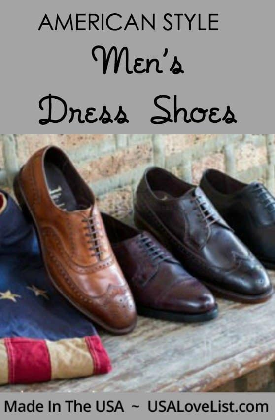 Men's Dress Shoes Made in USA | Made in USA Men's fashion