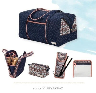 American Made Fashion Giveaway: Cinda b Luggage and Accessories