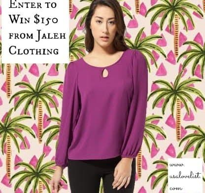 American Made Fashion Giveaway From Jaleh