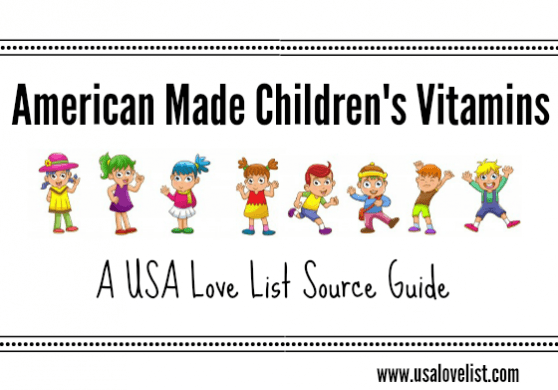 American made childrens vitamins