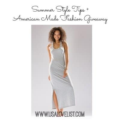 Summer Style Tips + a Hard Tail Forever Maxi Dress Giveaway