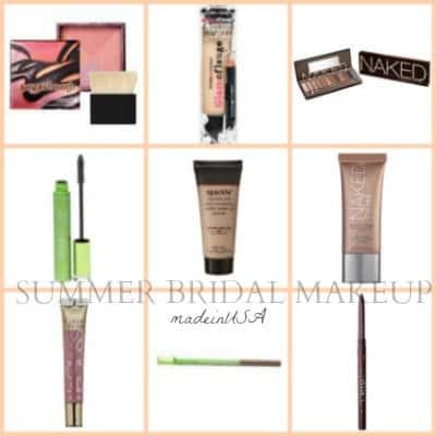 D.I.Y. Summer Bridal Makeup – Try the Beautiful Made in USA Cosmetics We Love