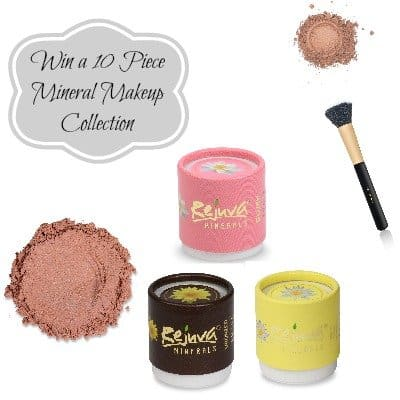 Win an American Made Mineral Makeup Drawer Makeover from Rejuva Minerals