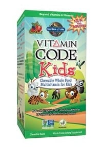 Best vitamins for kids :Garden Life Vitamin Code Kids #madeinUSA #vitamins #gmofree #organic #usalovelisted