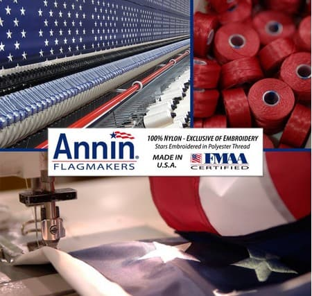 Made in USA American Flags: Annin Flagmakers #usalovelisted #madeinUSA #AmericanFlag