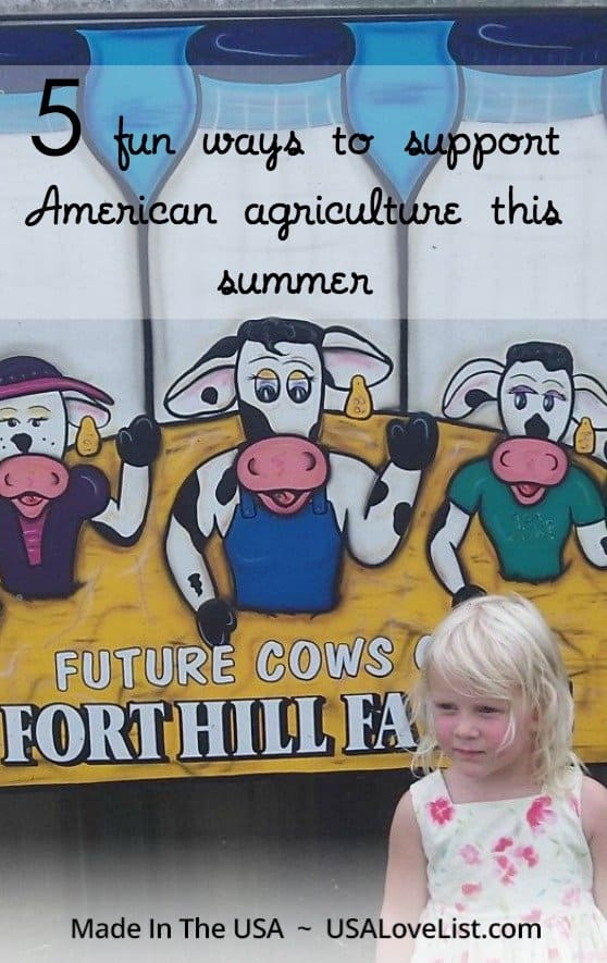Support American agriculture