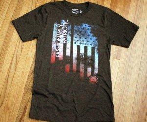 Frankie Scott #madeinUSA patriotic T shirts