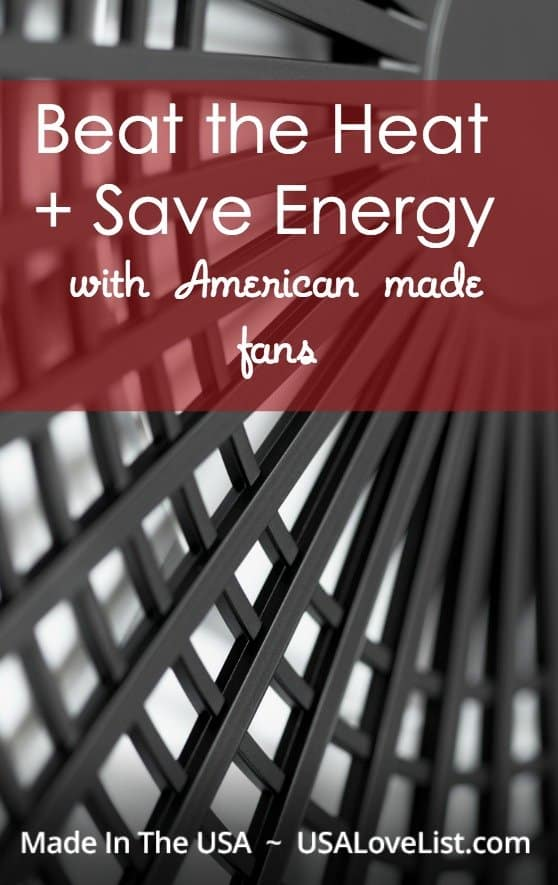 Tips on how to cool down with fans | Made in the USA fans and how to use them