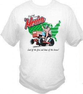Dam 'Merica #madeinUSA T shirts