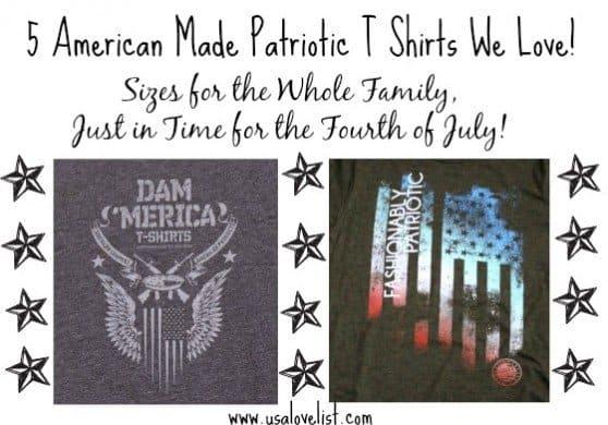 Patriotic T Shirts #madeinUSA