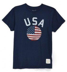 Retro Brand #madeinUSA T-shirts