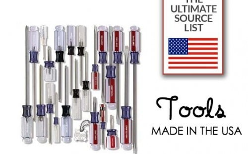 The ultimate source list of tools made in the USA.