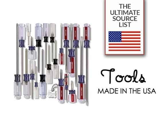 Father's Day Gift Ideas: The ultimate source list of tools made in the USA.
