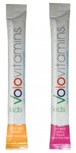 Volo Vitamin Kids | Flavored stick packs | Gluten Free| Made in USA | Children's Vitamins| Morning routine must have!