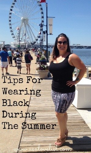 American Made Fashion: Three Fashion Tips For Wearing Black